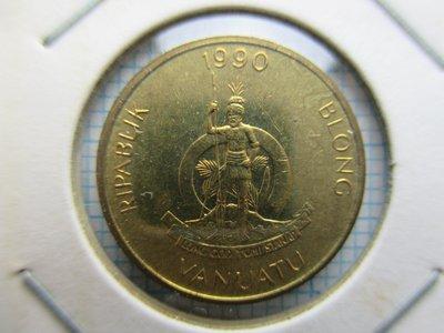 萬那杜(大洋洲).1990年.1瓦圖.