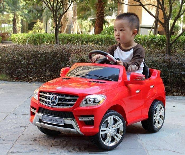 豪華升級版~正賓士原廠授權 ML350遙控電動童車~2.4G智能遙控+緩啟動~可遙控&自駕~網路獨賣 ◎童心玩具1館◎