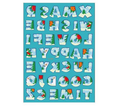 【萌古屋】聖誕節夜光紋身貼紙D - 男女防水紋身貼紙Merry Christmas刺青貼紙