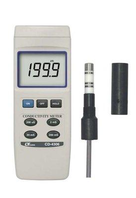 [捷克科技] Lutron 路昌 CD-4306 智慧型電導度計 ranges CONDUCTIVITY METER 高級電錶儀錶