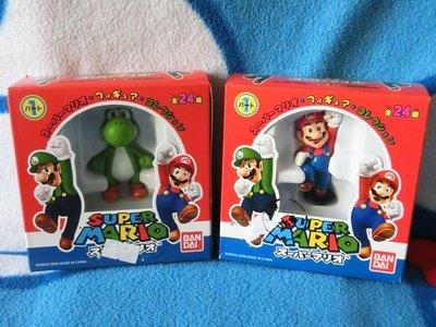 任天堂 Wii  超級馬力歐 MARIO公仔 瑪莉歐與耀西
