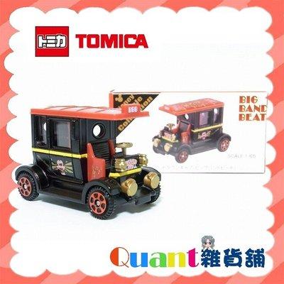 ∮Quant雜貨舖∮┌日本盒玩┐TOMICA 多美小汽車 Big Band Beat 市區車 東京迪士尼樂園限定