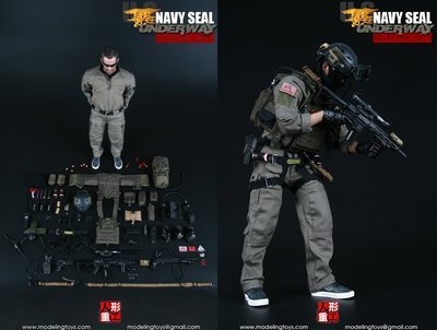 """MODELING TOYS - 1:6 US Navy Seal """"Underway Boarding Unit"""" (MMS9003) 全新未開封"""