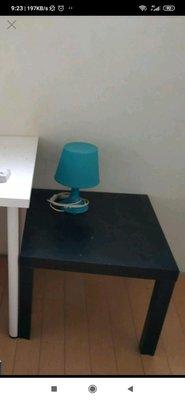郵寄或自取 Ikea lack 二手 邊桌 無印 胡桃木色 咖啡桌