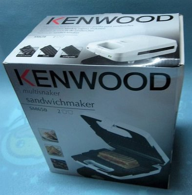 KENWOOD Multisnaker #SM650 三合一多功能小食機1 部