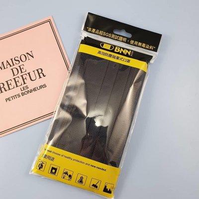 BNN成人平面FL口罩:搖滾黑~原廠5片包裝👍明星最愛款,非中衛酷黑