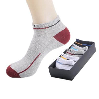 襪子 男士襪子棉襪短襪四季吸汗防臭透氣低筒襪學生淺口運動跑步籃球襪