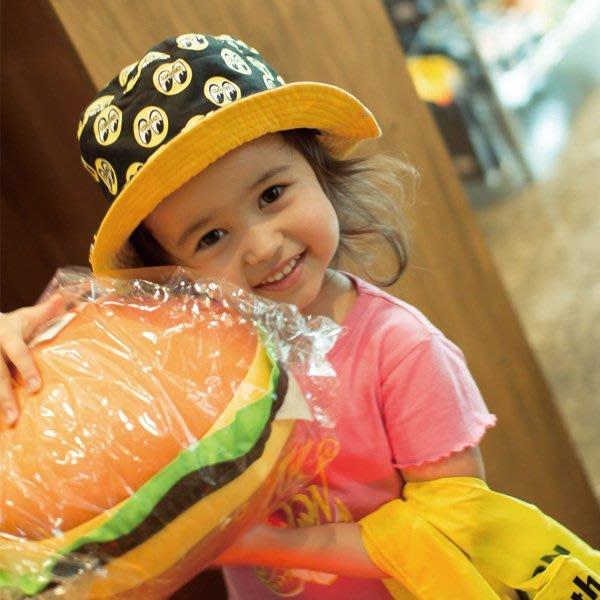 (I LOVE 樂多) MOONEYES 經典LOGO 兩面用漁夫帽 遮陽帽 孩童皆可戴