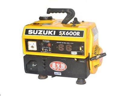 TAIWAN POWER清水牌  SUZUKI SX600R 中古發電機  官方售價5,980元