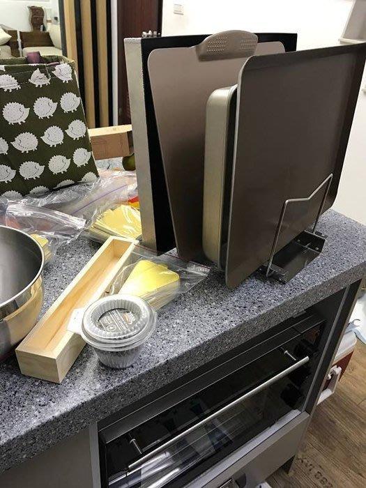 Amy烘培網 :烤盤收納架/砧板收納架/烤盤架/烤盤置物架/瀝水架 304不鏽鋼 /可調9線(大)