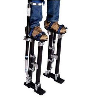 歐美設計鋁合金成人高蹺伸縮脚架小丑表演舞台廟會墊高採果道具