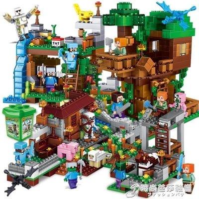 我的世界兼容樂高積木玩具男孩子益智力拼裝78村莊9房子6歲10鞋櫃-流行館
