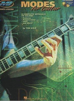 [ 反拍樂器 ] MI 系列進口書籍 Modes For Guitar 吉他教材 附CD (免運費)