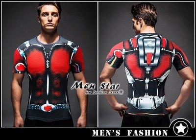 【Men Star】免運費 復仇者聯盟3 蟻人 螞蟻裝備 運動衣 短T 媲美 Dickies SMUDGE SQUAD