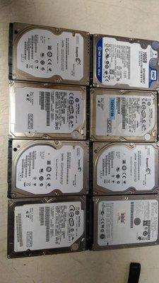 (衝評價)各大廠 2.5吋 500G  SATA介面硬碟 二手良品 售$340元/顆