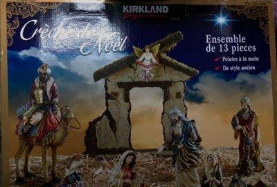 《十八番》Kirkland signature KS NATIVITY SET 科克蘭博士朝拜耶穌誕生組 979597