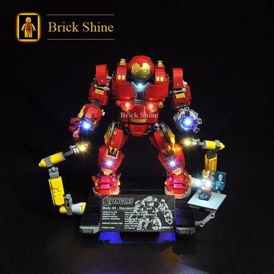 現貨 樂高 LEGO 76105 浩克毀滅者   全新未拆  BS燈組  原廠貨