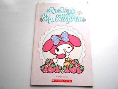 漫畫書 Sanrio My Melody and the Big Surprise 約32頁 英文書 English Reading
