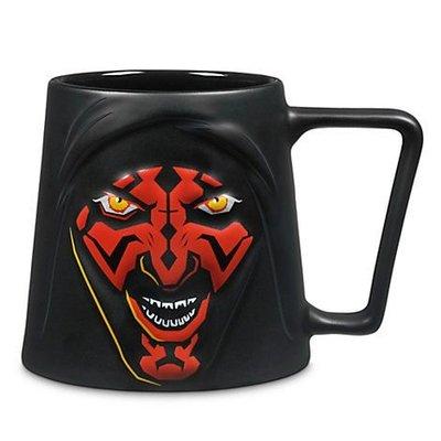 金錢貓雜貨~ 全新 Star Wars 星際大戰 達斯魔 Darth Maul Strip Mug 陶瓷杯