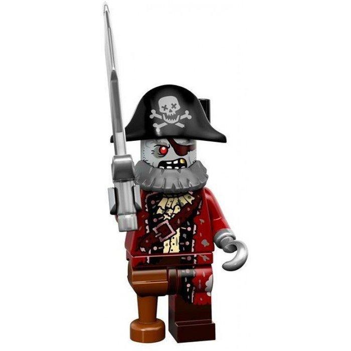 現貨【LEGO 樂高】益智玩具 積木/ Minifigures人偶系列: 14代人偶包抽抽樂 71010   殭屍海盜