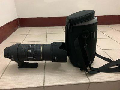 SIGMA 適馬 50-500mm f4-6.3 APO EX HSM 變焦望遠鏡頭 For Nikon