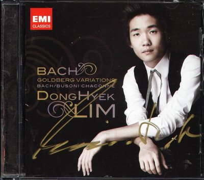 K - Lim Dong Hyek - Bach : Goldberg Variation & Chaconne 韓版