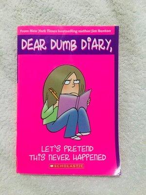 英文章節書 Dear Dumb Diary - Let's pretend it never happened.