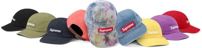 ☆LimeLight☆ Supreme Washed Chino Twill Camp Cap 皮扣 單寧