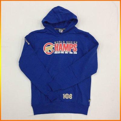 芝加哥小熊 Cubs 2016 MLB 世界大賽總冠軍連帽T恤 藍 5660121-550