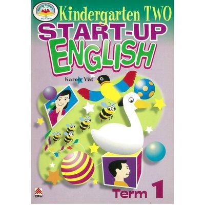 Pre-School Start-Up English-Term 1(Kindergarten two)兒文英文文法句型