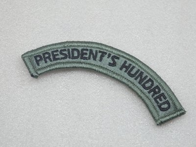 USARMY 總統射擊比賽優勝/President's Hundred 徽章/臂章 魔術貼