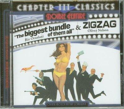 """Biggest Bundle of Them All/ Zigzag""- Riz Ortolani(89),美版"