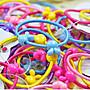 =吉米生活館= 買10送1 可愛糖果色髮圈(10入) 兒童髮圈 糖果髮圈 寶寶髮飾 壓克力髮圈 髮繩 髮束 髮飾