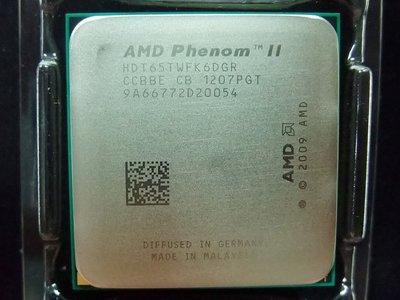 【含稅】AMD Phenom II X6 1065T 2.9G HDT65TWFK6DGR六核95W正式散片CPU一年保