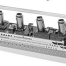 100% 全新 Metallic Nano Puzzle 金屬片蝕刻模型 金屬 拼圖 Titanic 鐵達尼號 特色 精細 $28 包郵