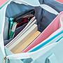 大號書袋文件袋手提袋帆布中小學生用手拎美術補學補習補課包可愛韓國小清新兒童大容量MTX13249