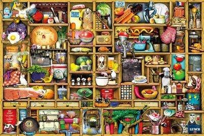拼圖專賣店-拼圖 R1000-004(1000片拼圖 colin Thompson神奇廚房)