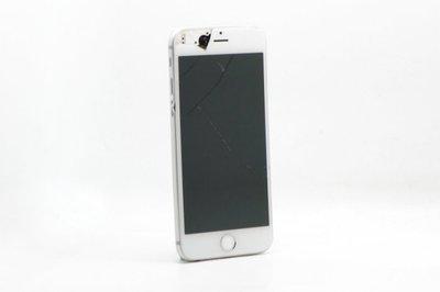 【台中青蘋果競標】Apple iPhone 6 銀 64G 4.7吋 蘋果手機 瑕疵機出售 機身彎曲 #29323