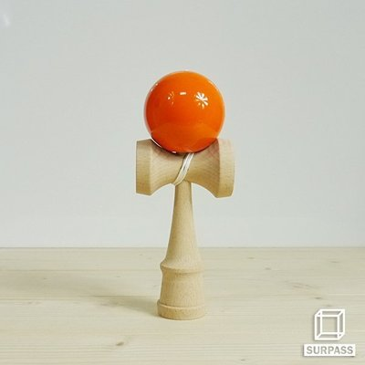 『Surpass』木質劍玉劍球 Classical 經典系列 橘色