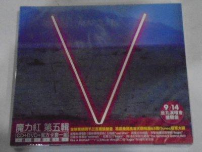 魔力紅 Maroon 5-- 第五輯超值影音盤 **全新** CD+DVD