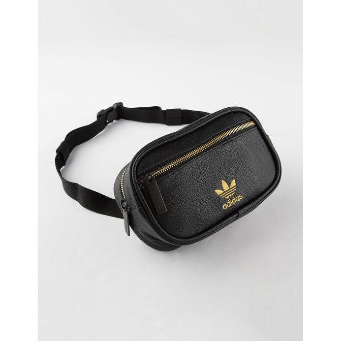 ☆AirRoom☆【現貨】Adidas PU Leather Waist Pack 皮革 腰包 刺繡 CK5076