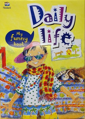 全新 Yomei 出版 My Funny Book Daily Life,含4書4CD,低價起標無底價! 1/2,免運!