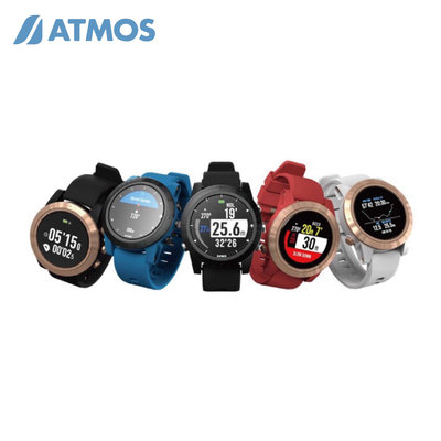 ATMOS MISSION ONE 潛水電腦錶 (空氣/高氧/自潛/儀錶)純黑色