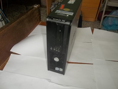 DELL 雙核心迷你電腦,OPTIPLEX 755,745,500G硬碟,共5台
