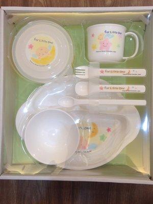 日本 Richell 利其爾 - 豪華七件式餐具禮盒組