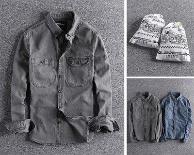 【時尚潮流購物】歐美 RIF ROCK 做舊復古休閒外套襯衫 100%正品 RICK OWENS WHITE Y-3