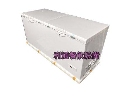 《利通餐飲設備》 6尺 雙門式上掀式 冷凍櫃臥式冰櫃冰箱冷凍庫雪櫃冷藏 冰櫃