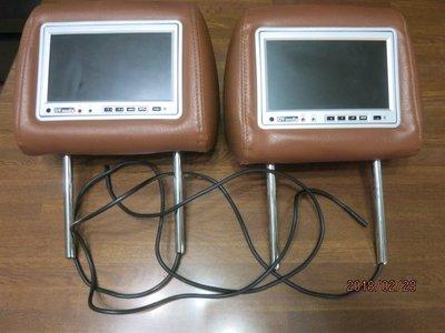 2手 Nissan X-trail  前座頭枕螢幕 2個一起賣。
