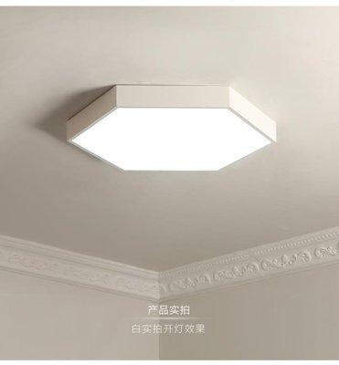 主臥室吸頂燈北歐燈具現代簡約客廳燈110V臺灣燈具超薄led吸頂燈  igo