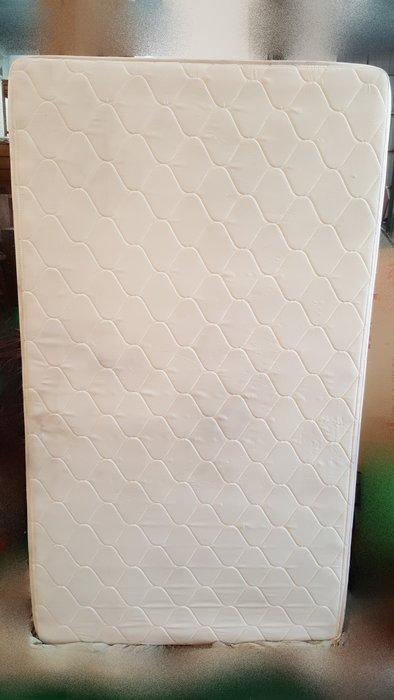 宏品二手家具 傢俱賣場 B61103*白色單人3.5尺床墊* 2手臥室寢具拍賣 床底 床箱 床板 床架 大特賣
